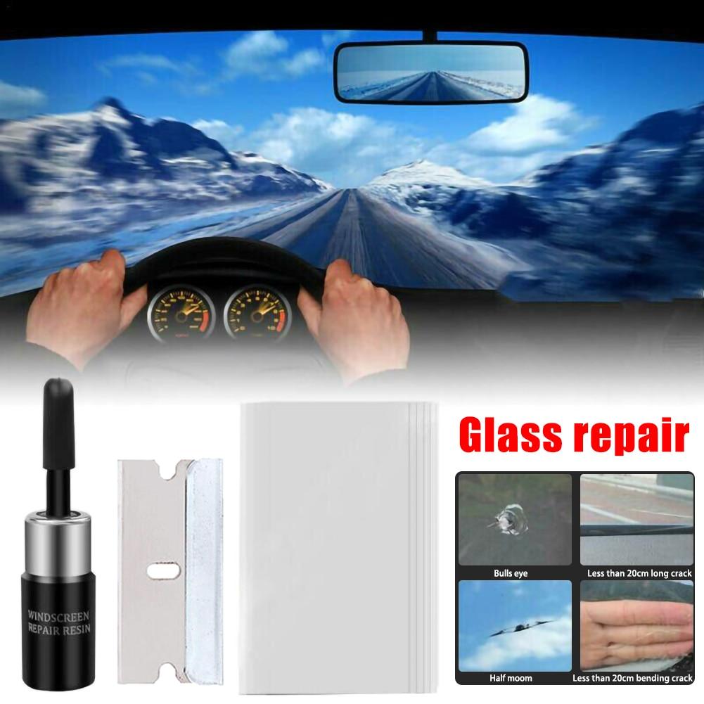 Car Window Repair Tools Windshield Repair Kits DIY Glass Scratch Windscreen Crack Restore Window Screen Polishing Car-Styling