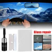 Ferramentas de reparo da janela do carro pára-brisa kits de reparo de vidro diy scratch pára-brisas crack restaurar a tela da janela de polimento do carro-estilo