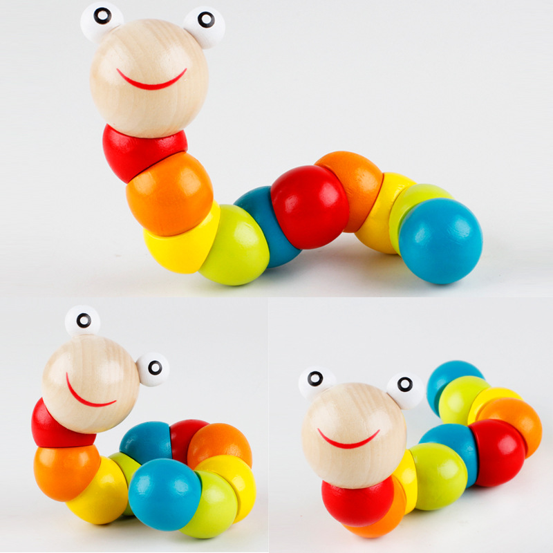 Infant 6-12 Finger Flexible Month Exercise 3 Young None-And-a-Half-Year-Old Baby Educational Aged 1-2 Years Mainland China Worm