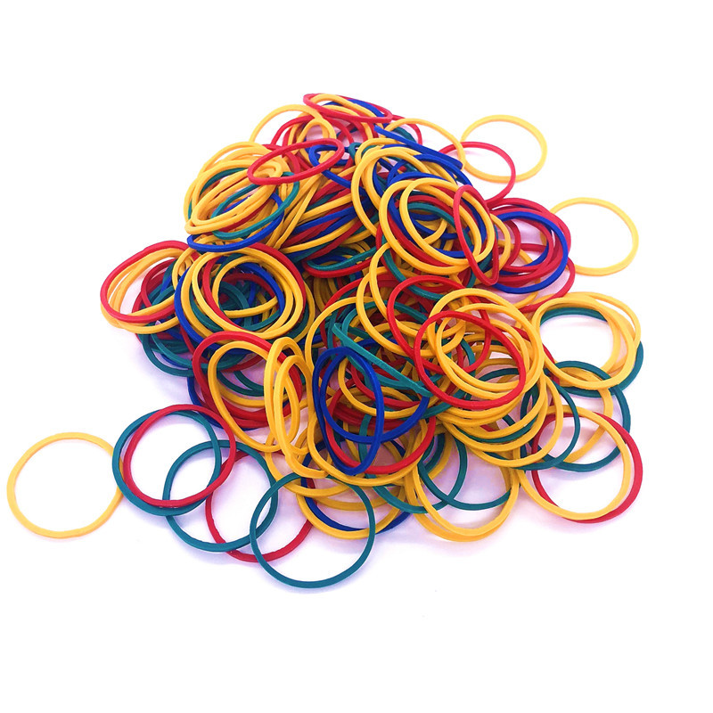 500 Pcs Rubber Bands For Rubber Band Gun Use 15mm Diameter Colored Rubber Band With High Elasticity And Good Quality