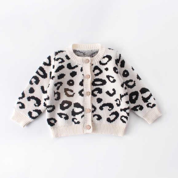 2019 marca 0-18M recién nacido niños niñas ropa para niños suéter estampado de leopardo trajes estilo abrigo sin mangas mameluco ropa 2 pedidos