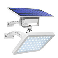Free Shipping Powerful Waterproof LED Solar Outdoors Wall Spotlight with Solar Panels Solar Battery for Exterior Dacha
