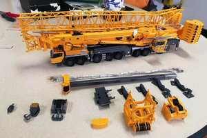 1:50 XCMG XCA1200 All Terrain Mobile  Crane toy