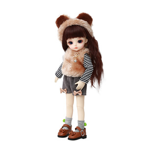 Image 5 - Miyo LCC BJD SD bebek 1/6 vücut modeli erkek kız Oueneifs yüksek kaliteli reçine oyuncaklar ücretsiz göz topları moda mağazası ortak bebek