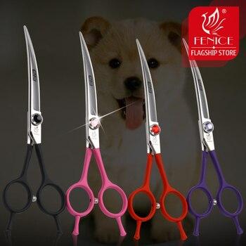 Fenice, tijeras profesionales para mascotas de 6,5 pulgadas, tijeras para perros, tijeras...