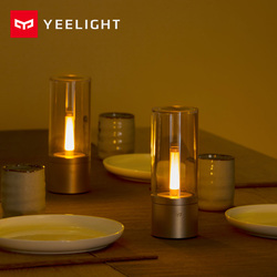 Yeelight Smart Candela lumière 6W LED sans fil Mijia App contrôle jaune lumière à la maison pour l'atmosphère lampe chambre nouveauté éclairage
