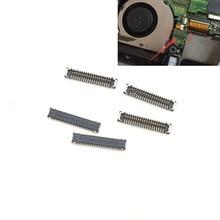 20PCS Flex Kabel Clip Lint Socket Moederbord voor Nintendo Switch Console Game Card Slot Hearphone Socket