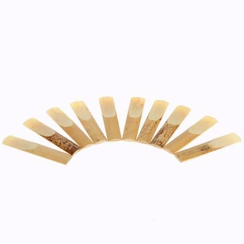 10 pièces 2.5 Reed bambou pour bE Alto Saxophone saxo instrument de musique accessoires outils - 5