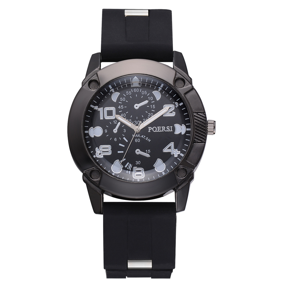 Fashion MEN'S Quartz Watch Casual Simple Smart Equipment Quartz Watch