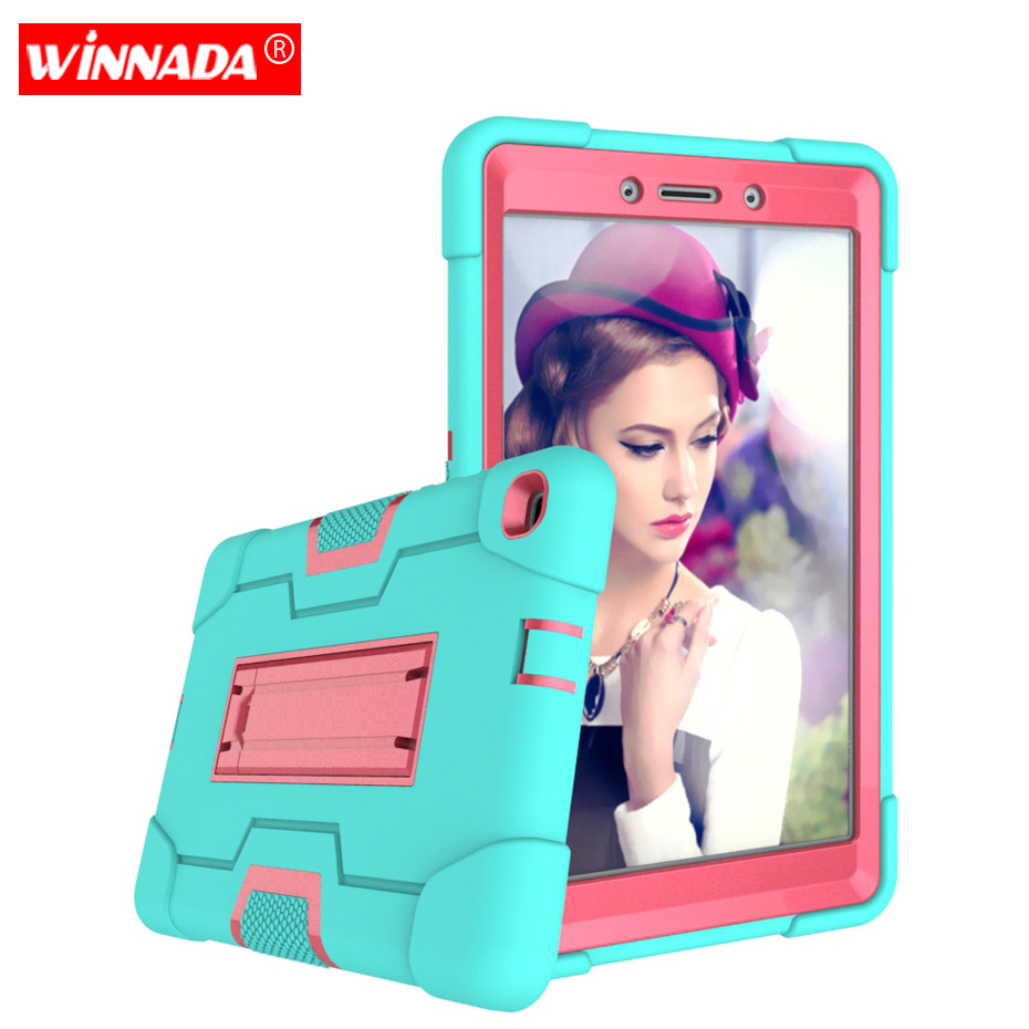 Case for Samsung Galaxy Tab A 8.0 2019 SM T290 T295 T297 Shock Proof full body Kids Children Safe non toxic tablet cover|Tablets & e-Books Case| |  - title=