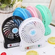 Taşınabilir 5W açık LED ışık Fan hava soğutucu masa USB Fan olmadan 18650 pil damla nakliye