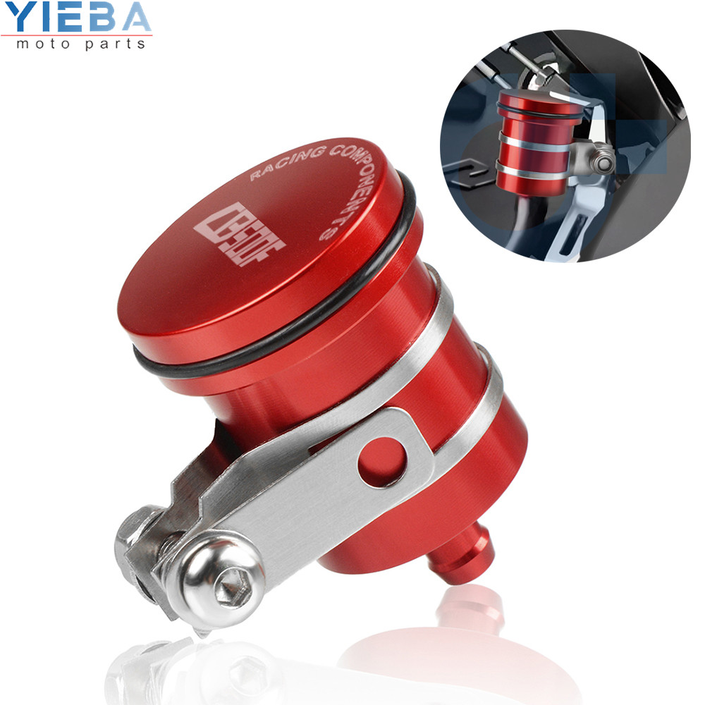Motorcycle Part Brake Reservoir Clutch Cylinder Tank Oil Fluid Cup For HONDA <font><b>CB500F</b></font> CB500 F 2019 <font><b>2018</b></font> 2013 2014 2015 2016 2017+ image