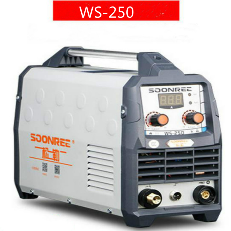 220v 7700w WS-250A tig inverter welder Stainless steel welding free shipping