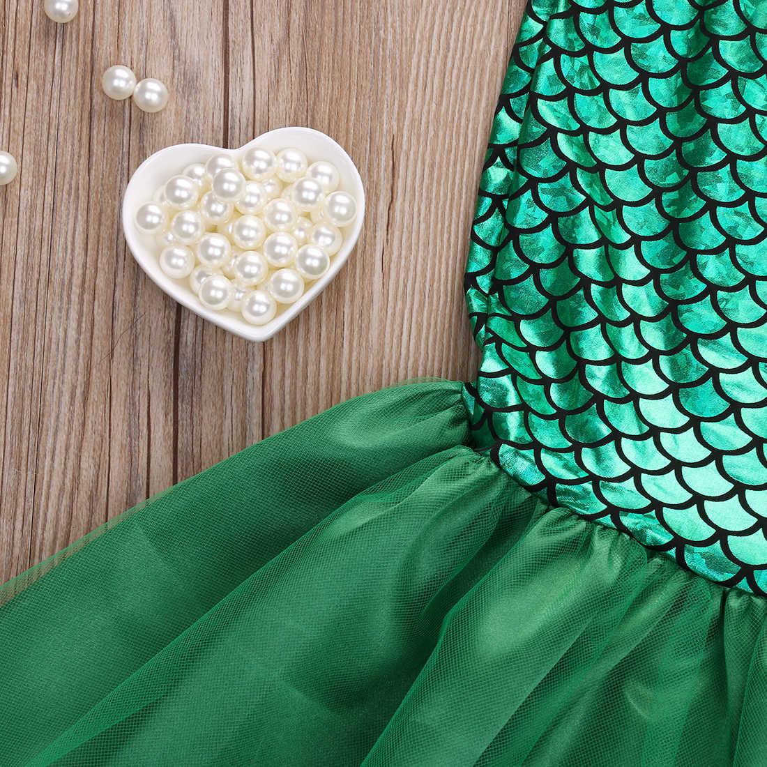 Del bambino Dei Capretti Delle Ragazze Della Sirena Bikini Set Costumi Da Bagno Costume Da Bagno Costume Da Bagno Costume adorabile Mermaid Infantile Del Capretto Del Bambino Vestiti Della Ragazza Set