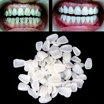 70 Pcs/pack Dental Ultra Thin Whitening Veneers Temporary Crown Resin Porcelain Materials Teeth Dental Oral Care
