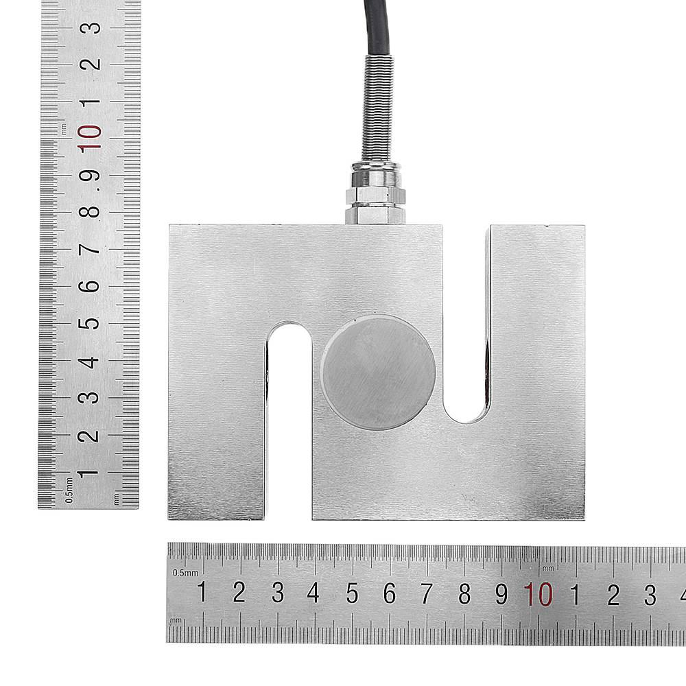 3000 kg escala stype corpo sensor de pressão medidor de célula de carga sensor de escala elétrica metal sensor de peso medição ferramentas - 4