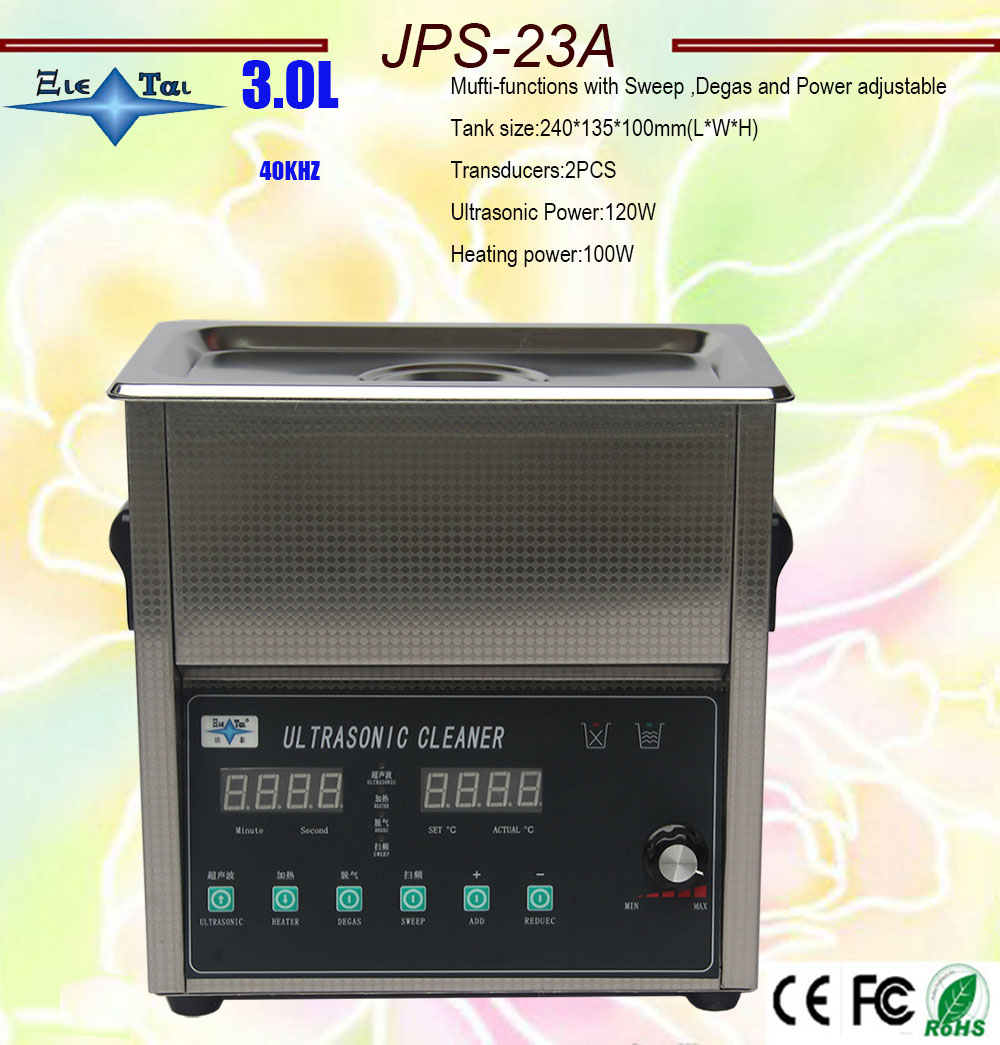 hot sale smart ultrasonic cleaner 3L 6L 10L 15L 20L 27L 220v/110V Mufti-functions with Sweep ,Degas and Power adjustable bath