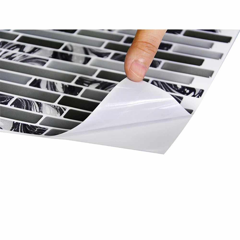 ثلاثية الأبعاد ذاتية اللصق ألواح حائط مقاوم للماء بلاط الحائط الفسيفساء ألواح حائط المطبخ الحمام الجدار الديكور ديكور المنزل # Zer