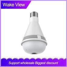 Wakeview панорамный светильник с лампой камера 960p full hd