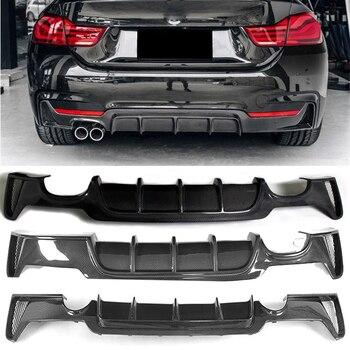Carbon Fiber Rear Lip Spoiler Diffuser For BMW 4 Series F32 Coupe F33 Convertible F36 Gran Coupe 2013-2019 Bumper Modification