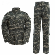Army Outdoors Military Uniform 15Color Camouflage Tactical Men Clothes Special Forces Combat Shirt Soldier Training Clothes Set