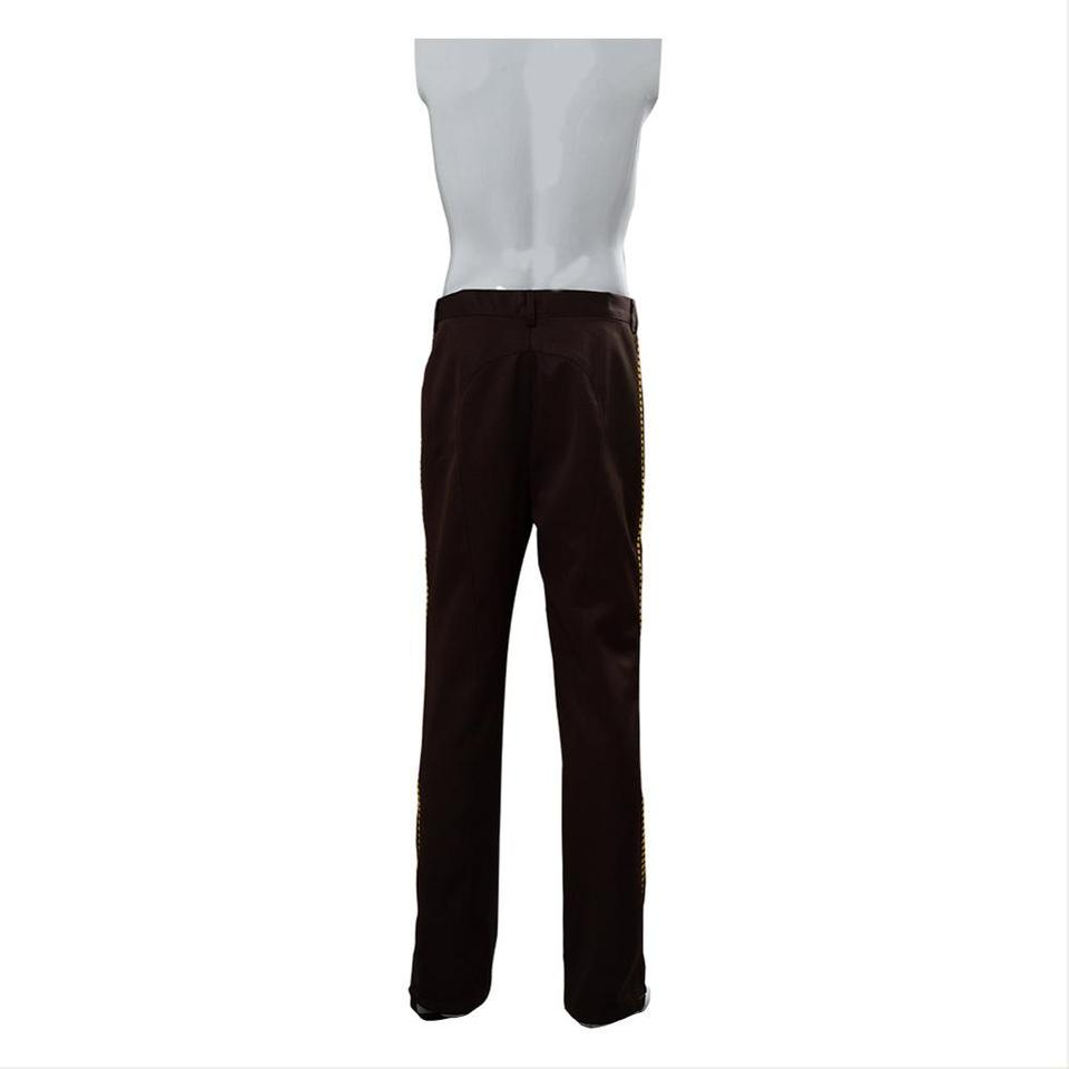 Star Wars IV ANH A New Hope Han Solo Cosplay Costume Men Balck Bar Pants Only