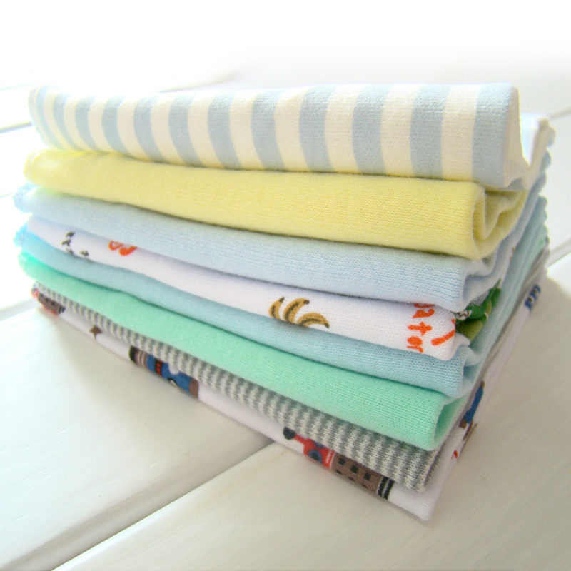 8Pcs Hot Sale Soft Water Absorption Towels Baby Bath Towels Cotton Gauze Flower Print New Born Baby Towels Baby Care Dropship