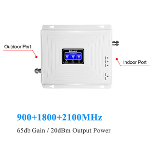 Image 2 - Lintratek Cell Phone Signal Booster 2G 3G 4G Tri Band Mobile Cellular Booster Repeater 900MHz 2100MHz 4G LTE 1800MHz Whole Set .