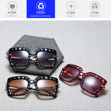 TTLIFE 3D Frame Square Sunglasses Vintage Rectangle Candy Co