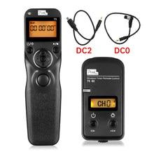 T9 PIXEL Sem Fio Timer Controle Remoto Obturador Para Nikon D7200 D7100 D7000 D5500 D5300 D5200 D90 D800 D850 D5 D750 D600