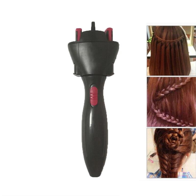 Électrique cheveux Braider torsion automatique Braider dispositif de tricotage Machine tressage coiffure Cabello outil de coiffure