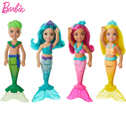 Кукла Русалочка «Челси» Барби Dreamtopia, детские игрушки для девочек, маленькие радужные куклы, игрушки для детей, подарок, принцесса, игрушки