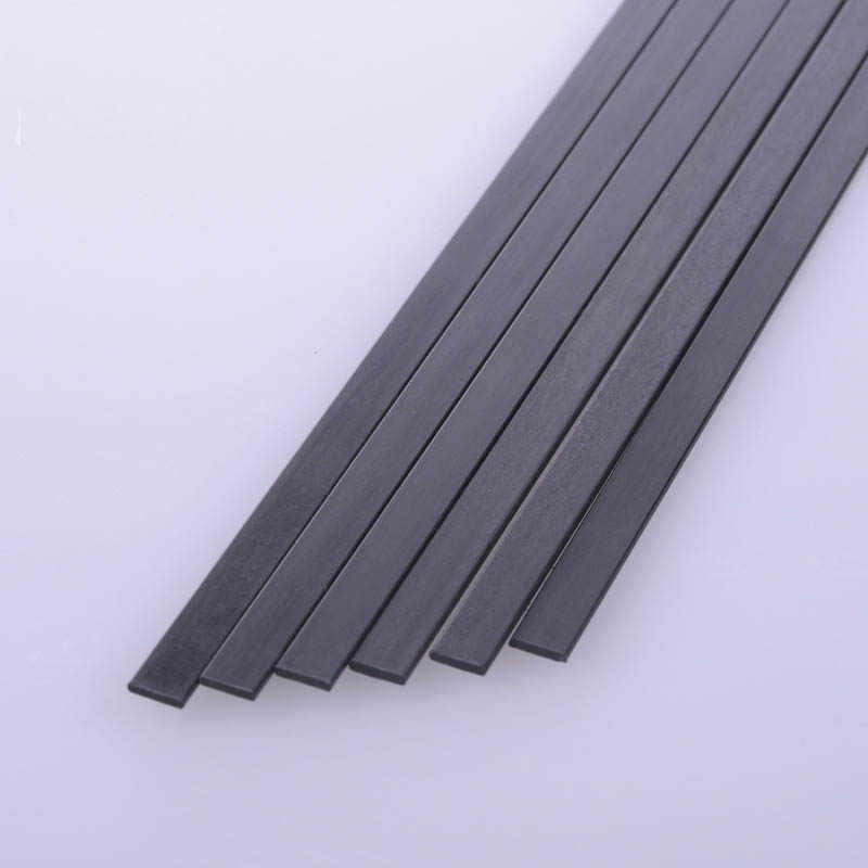 2019 新炭素繊維シート炭素繊維ストリップモデル材料航空機補強ロッド 1*5 ミリメートル 1*3 ミリメートル