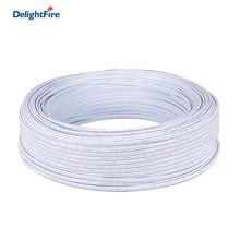 O cabo branco de 2 pinos conduziu o cabo 5 do conector/10/20/50/100m fios bondes 2pin fio para 5050 2835 a única cor que ilumina o motorista conduzido
