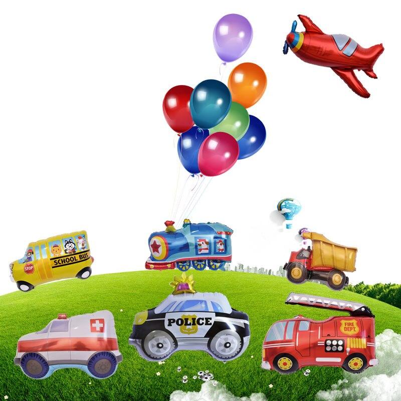 "32/"" Giant Back to School Bus Balloon"