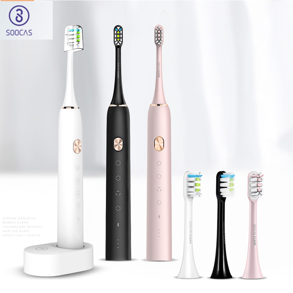 Soocas X3 Waterproof Electric Toothbrush USB Rechargeable Upgraded Sonic Electrric Toothbrush Ultrasonic Toothbrush image