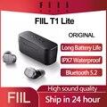 Original FIIL T1 Lite TWS Bluetooth 5,2 Ohrhörer Wahre Drahtlose Kopfhörer Lange Batterie Lebensdauer ENC HiFi IPX7 Wasserdicht mit Mic