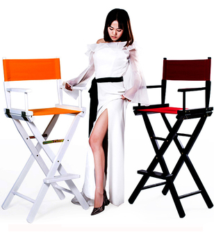 16%,Artist Director Chair Foldable Outdoor Furniture Lightweight Photography Accessorice Portable Folding Director Makeup Chair фото