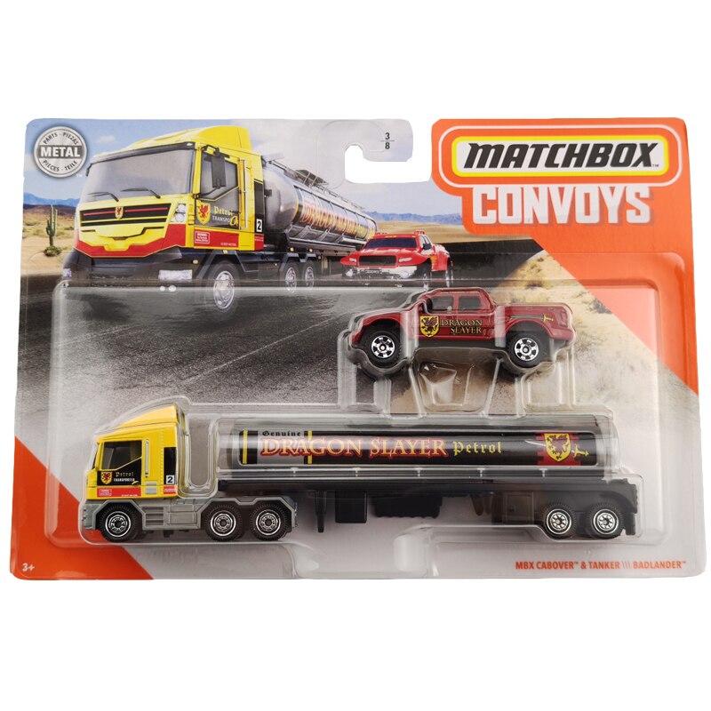 Matchbox Convoys MBX CABOVER TANKER And BADLANDER  Collector Edition Metal Diecast Model Car Toys