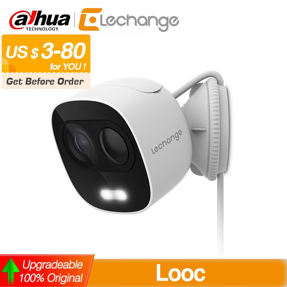 Dahua Lechange LOOC 1080P HD Wifi Camera with LED Light Surveillance CCTV Wireless In/Outdoor Weatherproof PIR Detect IPC-C26E
