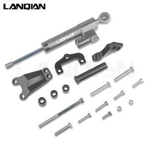 Image 5 - For Kawasaki ER 6N Motorcycle Aluminum Steering Stabilize Damper & Bracket Mount ER 6N ER6N 2013 2014 2015 2016 Accessories