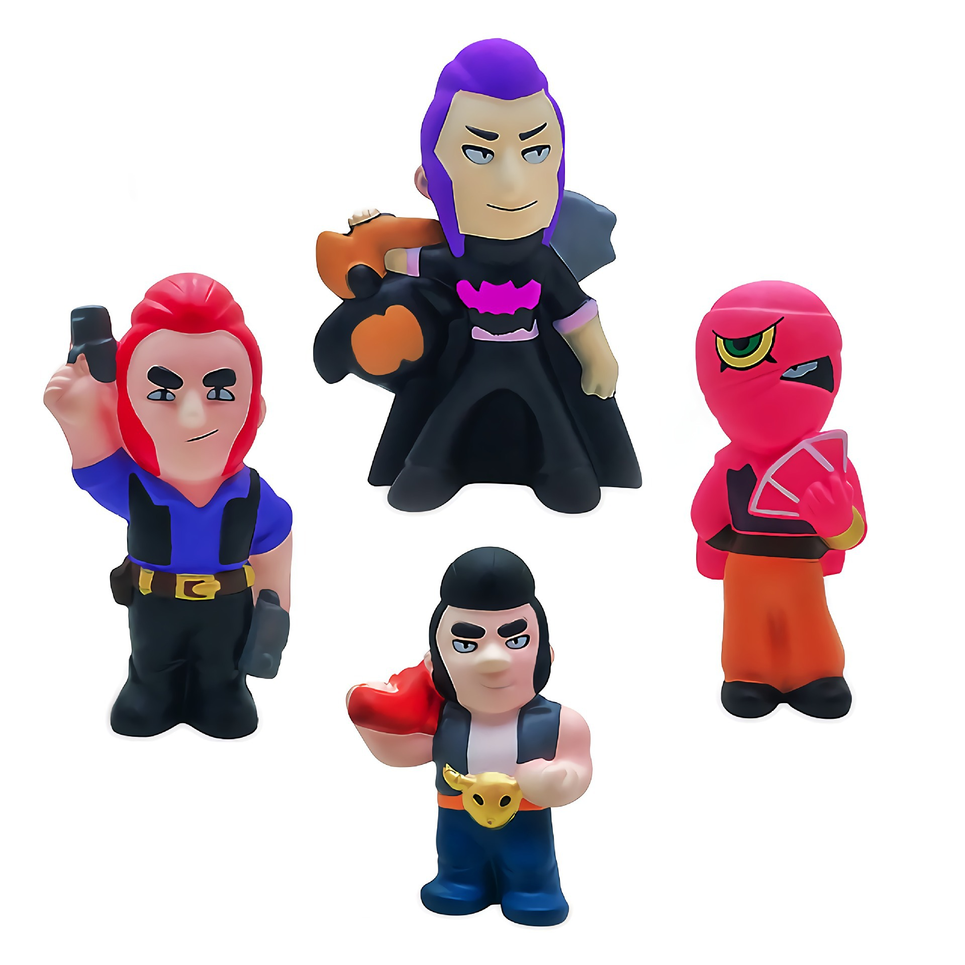 Cake Squishy Brawling Hero Game Star Squishies Toy Squeeze Squishi Toy  Spike Shelly Leon PRIMO MORTIS Relief Toys For Childrens