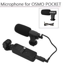 المحمولة 3.5 مللي متر ميكروفون ل DJI oomo جيب/جيب 2 محول الصوت كابل بيانات موصل يده كاميرا ذات محورين اكسسوارات