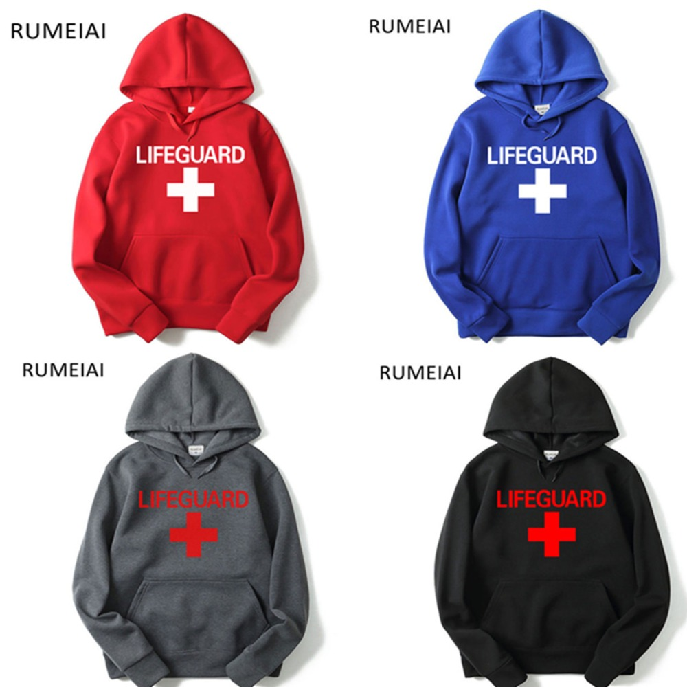 2019 Game Lifeguard Cosplay Costumes Lifeguard Hoodies Men And Women Hoodies Sweatshirt Spring Streetwear Outwear Pullovers Tops