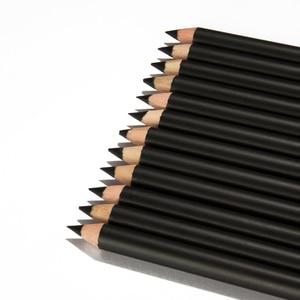 12 Pcs/Set Eyeliner Pencil Bla