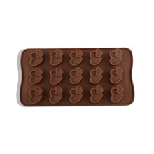 цена на Silicone Mould Non-stick Kitchen Bakeware Cake Mould Pan Pudding Maker Mold DIY Chocolate Chip Mold Baking Tool
