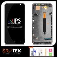 اختبار 6.0 ''1280x720 LCD لنوكيا Lumia 1320 شاشة تعمل باللمس لنوكيا 1320 عرض قطع غيار محول رقمي|شاشات LCD للهاتف المحمول|   -