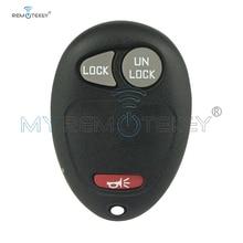 Remtekey Remote key fob L2C0007T 2 button with panic for Chevrolet Colorado Venture GMC Canyon Hummer H3 Pontiac Montana car