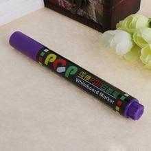 12 Color Whiteboard Marker Erasable Paper Glass Dry Erasing 5mm Writting Pen 652E