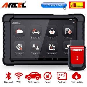 Image 1 - Ancel – Outil de diagnostic des fonctions dune voiture, scanner Bluetooth X6 OBD2, balayage ABS, airbag, huile EPB DPF, réinitialisation OBD 2, lecteur de code